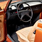 Photo of the interior of a 1979 convertible VW Coccinelle 1303 cabriolet by CLASSIC 42