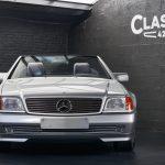 photo d'une Mercedes 300 SL décapotable de 1993 en vente chez Classic 42 Classic Car Occasion Belgique