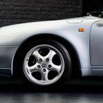 Photo d'une Porsche 993 grise de 1994 à vendre chez Classic 42 Classic German Car Dealer www.classic42.be