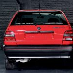 photo d'une Volskwagen Polo G40 de 1992 rouge à vendre chez Classic42 Classic German Car Dealer www.classic42.be