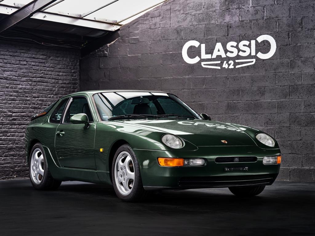 photo d'une Porsche 968 Coupé de 1994 occasion en vente chez Classic 42 - Le spécialiste des Voitures Classiques Belgique