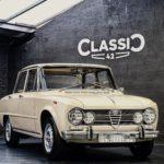 photo d'une Alfa Giulia 1600 Super de 1969 à vendre en occasion chez Classic 42   Spécialiste Classic Car Belgique