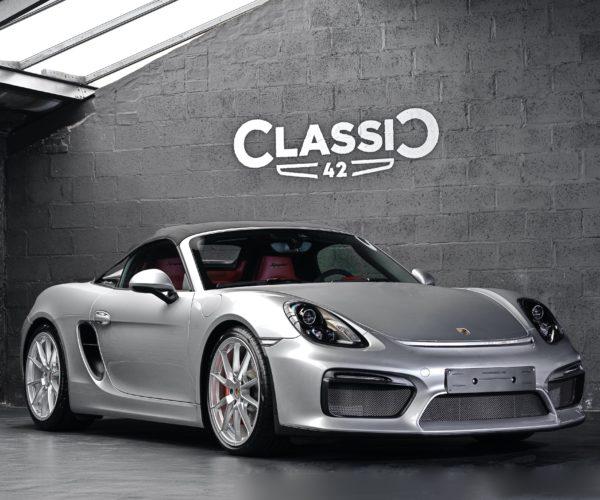 Porsche Boxster 981 Spyder | Occasion Classic 42 Cars Belgique